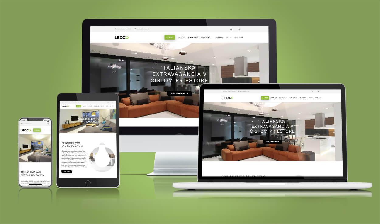 Predaj svietidiel, návrh, poradenstvo a realizácia projektov osvetlenia